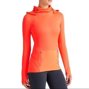 Athleta Plush Tech Hoodie Workout Jacket